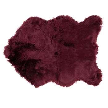 Aubergine Faux Fur Rug (H60 x W90cm)