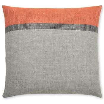 Auburn Cushion, Orange & Grey (H45 x W45cm)