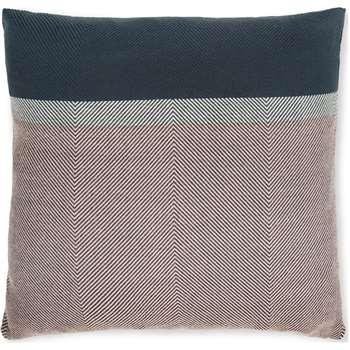 Auburn Cushion, Teal & Pink (H45 x W45cm)