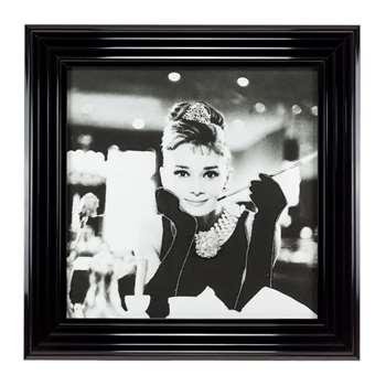 Audrey Cig Liquid Art (H50 x W50cm)