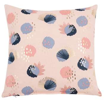 AUDREY - Cotton Cushion Cover with Print (H40 x W40cm)