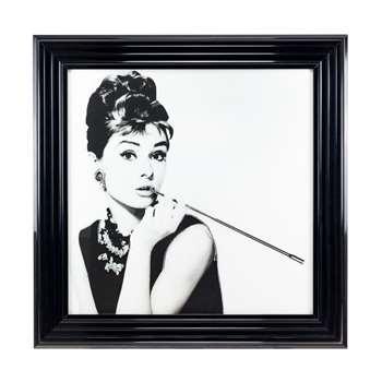 Audrey Liquid Art (H60 x W60cm)