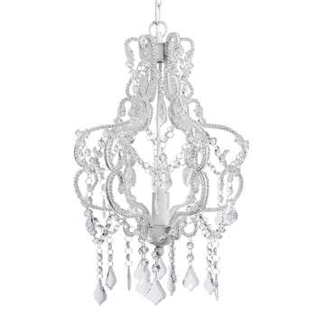 AURORE metal droplet chandelier D 30cm