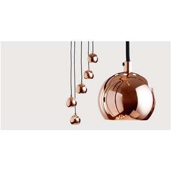 Austin Cluster Pendant, Copper (220 x 26cm)