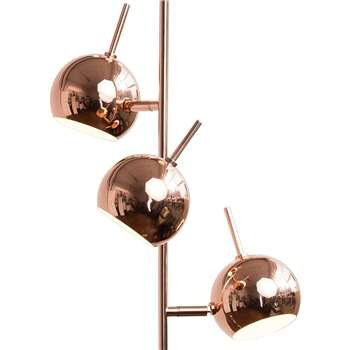 Austin Floor Lamp, Copper (165 x 27cm)