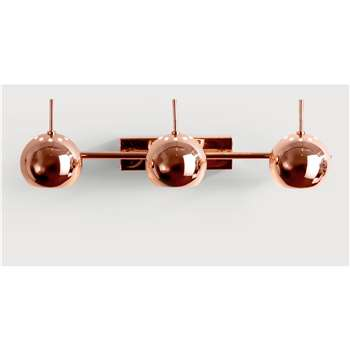 Austin Spot Wall Light, Copper (17 x 46cm)