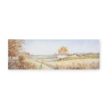 Autumn Walk Canvas