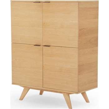 Aveiro Cabinet, Oak (122 x 100cm)