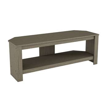 AVF Calibre Up to 55 Inch TV Stand - Grey Wood Effect (H41 x W115 x D40cm)