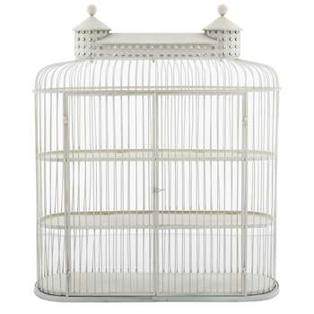 Aviary Cage Cabinet - Ivory (85 x 80cm)