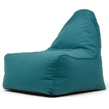 Ayra Bean Bag Chair, Mineral Blue (H85 x W70 x D80cm)