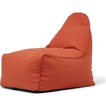 Ayra Bean Bag Chair, Retro Orange (H85 x W70 x D80cm)