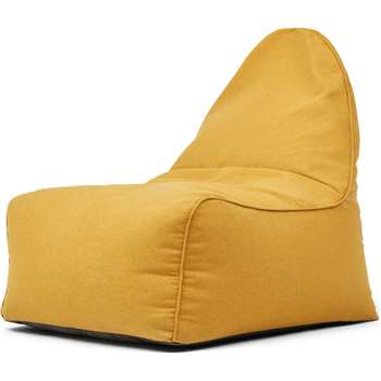 Ayra Bean Bag Chair, Yolk Yellow (H85 x W70 x D80cm)