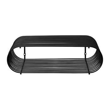 AYTM - Curva Shelf - Black (H12 x W40.5 x D25cm)