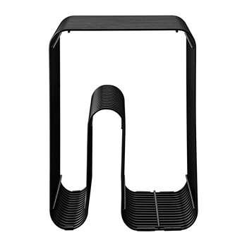 AYTM - Curva Stool - Black (H48.5 x W32.5 x D32.5cm)