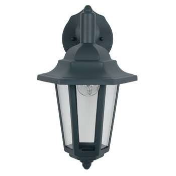 Azalea Outdoor Wall Light Grey (H34 x W17.6 x D20.5cm)