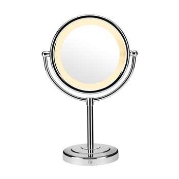 Babyliss Reflections Luxury Illuminated Mirror 9429BU, Silver
