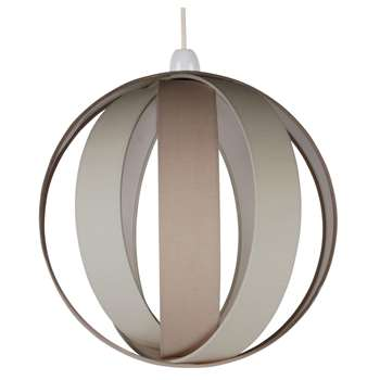 Bale Pendant Light Shade Natural (H30 x W30 x D30cm)
