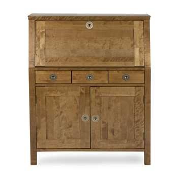 Balmoral Honey 3 Drawer Bureau (110 x 90.5cm)