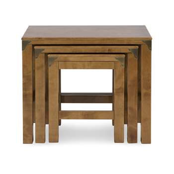 Balmoral Honey Nest of 3 Tables (H50 x W60 x D38cm)