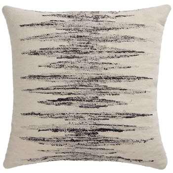 Balotra Floor Cushion, Natural White And Black (H75 x W75cm)