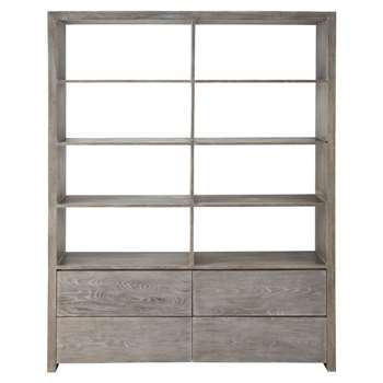 BALTIC Wooden bookcase (206 x 165cm)