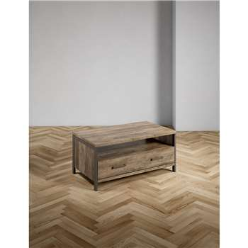 Baltimore Grey Coffee Table (H48 x W105 x D60cm)