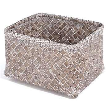 Bamboo Book Basket (21 x 35cm)