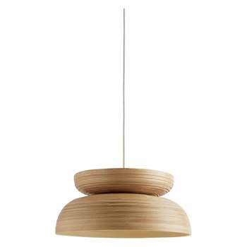 Bamboo Oversized Easy-To-Fit Bamboo Ceiling Shade (H17 x W40 x D40cm)