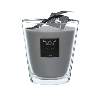Baobab Collection - All Seasons Scented Candle - White Rhino (Height 16cm)