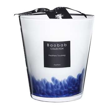 Baobab Collection - Feathers Touareg Scented Candle (Height 16cm)