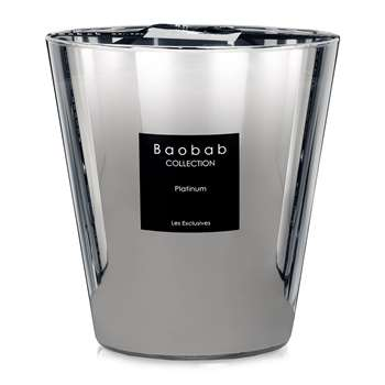 Baobab Collection - Platinum Scented Candle (Height 16cm)