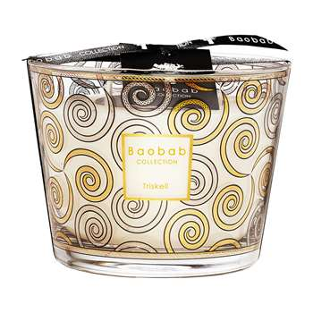 Baobab Collection - Triskell Candle (Height 10cm)