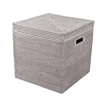Baolgi - Storage Box - White (H38 x W38 x D38cm)