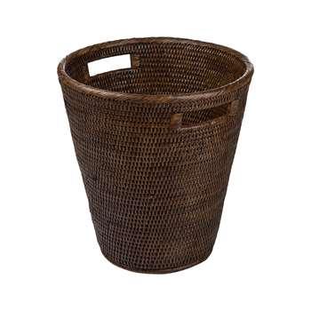 Baolgi - Waste Bin - Teak (H36 x W33 x D33cm)