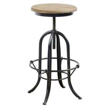 Baptiste Bar stool (H65-88 x W38 x D38cm)