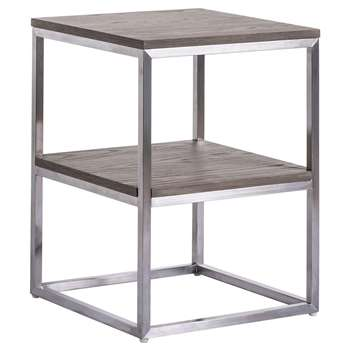 Barbican Side table (H61 x W45 x D45cm)