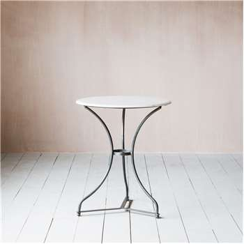 Barcelona Marble Side Table (Height 67cm)