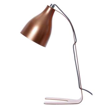 Leitmotiv Barefoot Table Lamp - Copper (40 x 20cm)