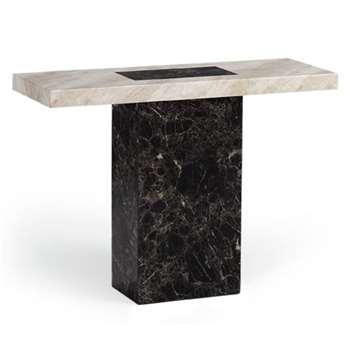 Barletta Marble Console Table (H80 x W110 x D40cm)