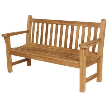 Barlow Tyrie London 3-Seat Garden Bench (H90 x W161 x D64cm)