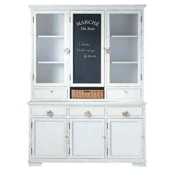 BASSE COUR White China Cabinet (H217 x W162 x D50cm)
