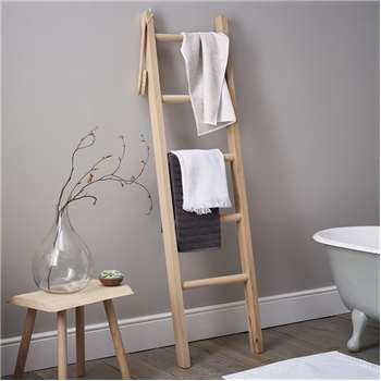 Bathroom Ladder, Oak (170 x 48cm)