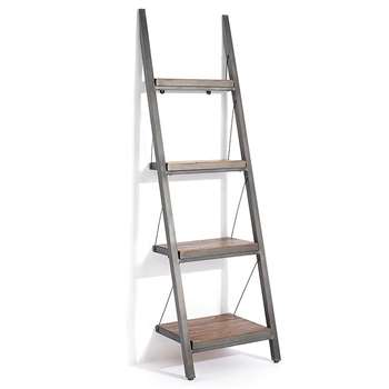 Baxter Narrow Ladder Bookcase (205 x 60cm)