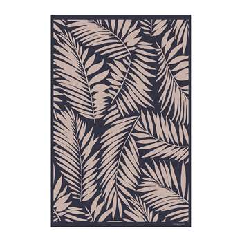 BEAUMONT - Leaves Vinyl Floor Mat (H99 x W150cm)