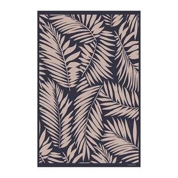 BEAUMONT - Leaves Vinyl Floor Mat (H99 x W150cm)