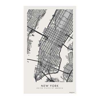 BEAUMONT - Week-end Vinyl Floor Mat - New York (H150 x W99cm)
