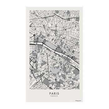 BEAUMONT - Week-end Vinyl Floor Mat - Paris (H150 x W99cm)