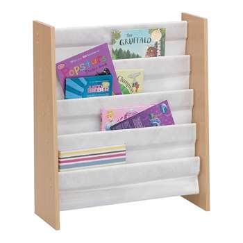 Beech Effect Sling Bookcase (74 x 63cm)
