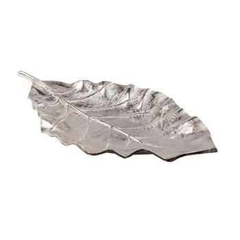 Beech leaf bowl silver (3 x 6cm)